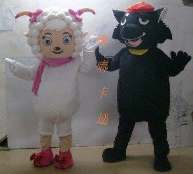 Cartoon Costumes Walking Cartoon Doll Clothing Cartoon Costumes Us Frankie Black Taro Mascot Costume