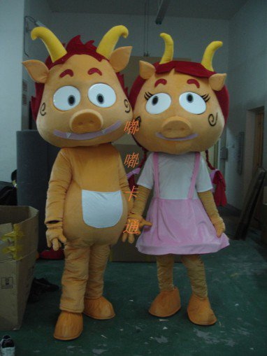 Manufacturers Sold Clothing Walking Cartoon Cartoon Doll Clothing Cartoon Costumes Cartoon Pig Dolls Mascot Costume