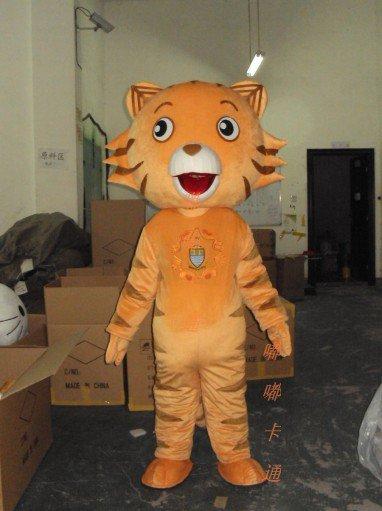 Performance Clothing Walking Cartoon Animal Cartoon Costumes Cartoon Doll Clothing Cartoon Tiger Kitchen Cincinnati Mascot Costume