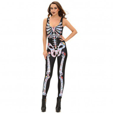 Europe and The United States Halloween Cosplay Costumes Sexy Sexy Jumpsuit Stage Halloween Costume