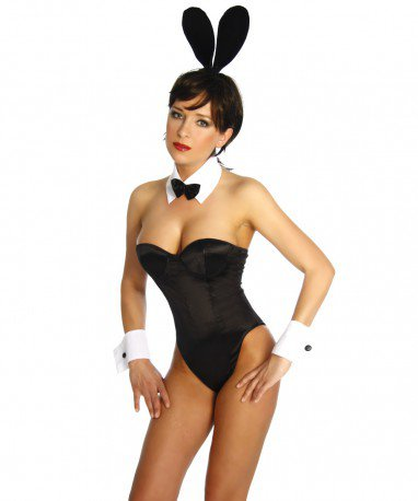 European and American Bunny Sexy Sleeves Flat - Print Uniform Halloween Costume