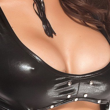 Sexy Black Slim Sexy Catwoman Stage Pack Halloween Costume