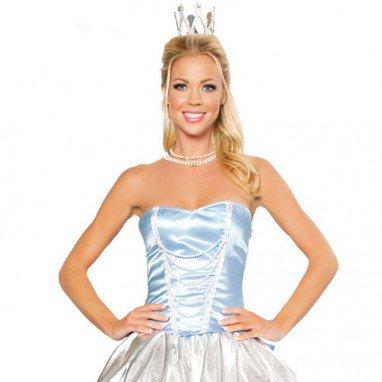 European and American Halloween Make - Up Sexy Mini Princess Uniform Stage Installed Halloween Costume