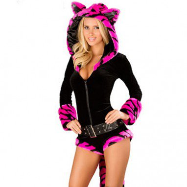 Halloween Sexy Lion Fur Loaded Animal Performance Costumes Uniform Temptation Stage Halloween Costume