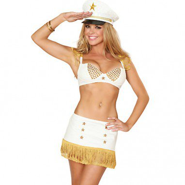 Stage Set Suit Stewardess Suit Sailor Wear Pure Sister Role - Playing Performance Costumes Halloween Costume