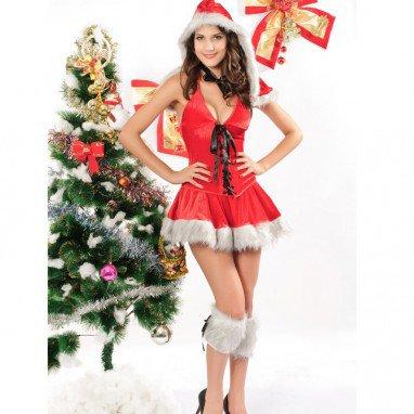 Europe and America Vest Christmas Stage Equipment Christmas Three - Piece Set