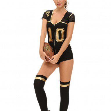 European and American Role - Playing Embroidered Football Clothing Show Siamese Stage Equipment Halloween Costume