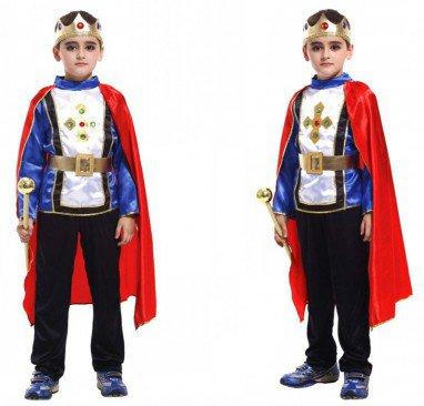 Halloween Children Prince Dress Up Performance Dress Makeup Prince Arabian