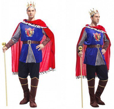 Halloween Costume Adult Mask Costume King Costume