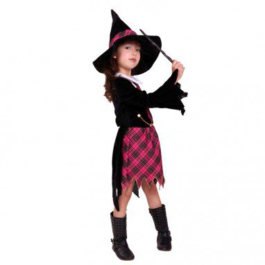 Halloween Costume Child Witch Cloak Harry Potter Magic Student