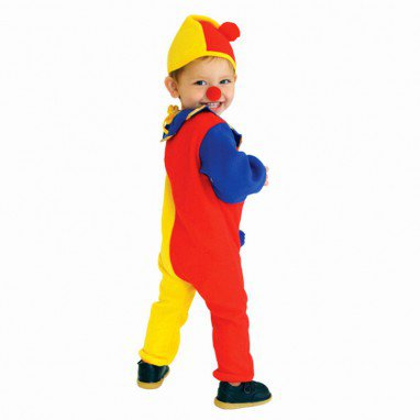 Halloween Costume Children Clown Costumes Make - Up Clown Flower Girl Dress Stage Performance Service