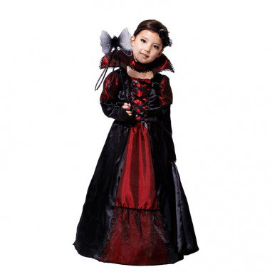 Halloween Costume Christmas Vicious Queen Princess Dress
