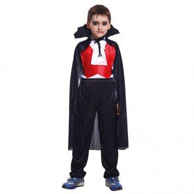 Halloween Costume Children Makeup Vampire Clothing Cloak