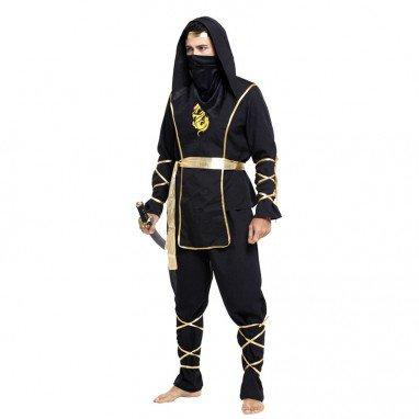 Halloween Costume Adult Ninja Hero Alliance Dress Up Samurai Clothing
