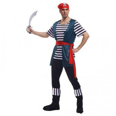 Halloween Costume Adult Stage Sailor Viking Pirates
