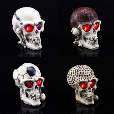 Halloween Decoration Novelty Creative Toys Funny Spoof The Whole Resin Skull Head To
