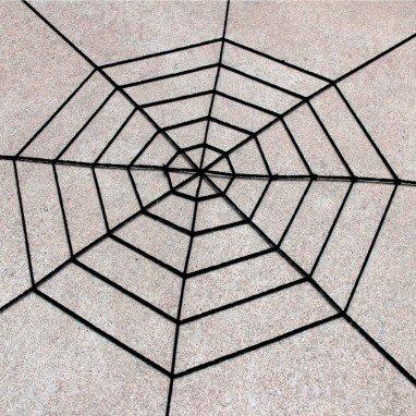Halloween Ghost Ghost House Decorative Supplies Spider White Black Spider Web