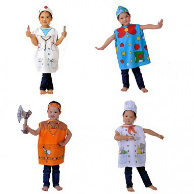 Halloween Dress Up Dress Up Game Professional Clothing Role Clothing Nurse Witch Multi Style