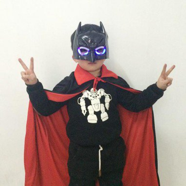 Halloween Gauntle Batman Set Adult Child Magic Death Vampire Black Cloak Cloak Set