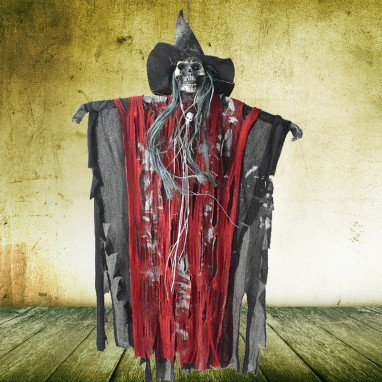 Halloween Carnival Ghost House Dress Up Terrorist Enthusiastic Scarger Ghost Voice Ghost Call Witch Spear