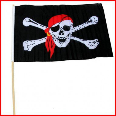 Halloween Supplies Haunted House Ktv Site Layout Pirate Flag Skull Flag