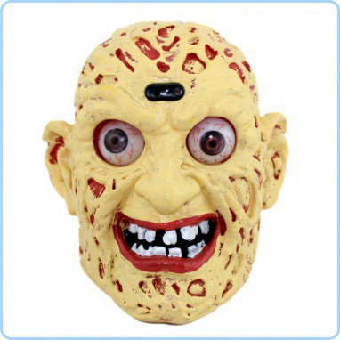 Halloween Supplies Halloween Decorative Supplies Sound Control Induction Skulls Terror Ghost Ghost Head Light
