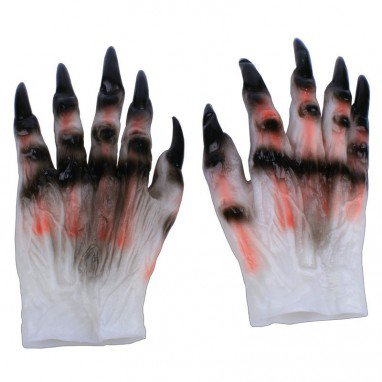 Halloween Gaekje Cosmetics Zombie Beast Dress Up Terror Men and Women Style Devil Skeleton Gloves