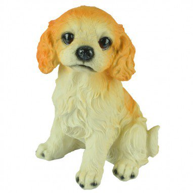 Puppy Save Money Jar Dog Children Gifts Toys Yellow Dog Spotted Dog Resin Puppy Home Ornaments