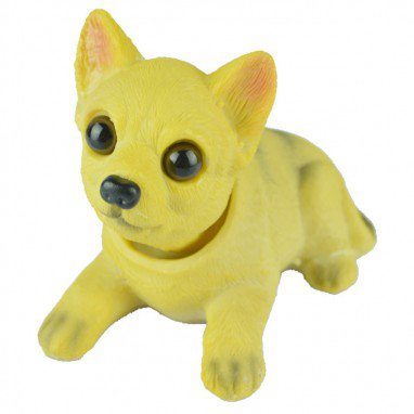 Simulation Shook His Head Puppy Dog Resin Ornaments Crafts Home Decoration Boutique Special For The Intellectual Interest in Toys