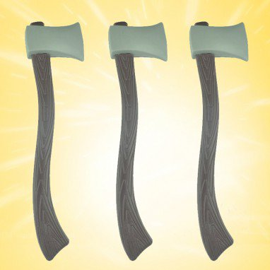 Halloween Make - Up Characters Dress Up Simulation Weapons Weapons Weapons Toys Cut Firewood Ax Ax To Help
