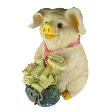 Creative Europe Lucky Pig Piggy Bank Resin Crafts Gifts Home Decorative Gifts L Pigs Decoration
