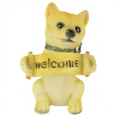 European Home Animal Ornament Resin Simulation Pet Dog Ornaments Puppy Save Money Jar Holiday Gift