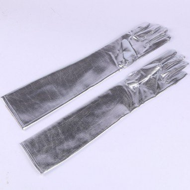 Halloween Supplies Show Supplies Wedding Gloves Stretch Silk Gloves Sleeve Performance Supplies Multi-color