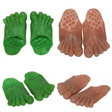 Performances Tricky Toys Funny Shoes Vinyl Shoes Giant Shoes Goblin Shoe Cover