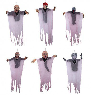 Halloween Ghosts Ktv Haunted House Decorations Set Horror Hanging Ghost Pendant Ghost Festival Corpse Ornaments
