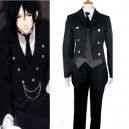 Supply Black Butler Kuro Shitsuji Halloween Cosplay Costume