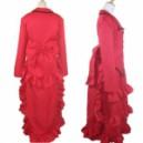Black Butler Madam Red Angelina Dalles Halloween Cosplay Costume