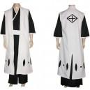 Bleach 10th Division Captain Toushiro Hitsugaya Halloween Cosplay Costume