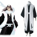 Supply Bleach 6th Division Captain Kuchiki Byakuya Halloween Cosplay Costume