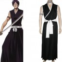 Bleach 9th Division Lieutenant Hisagi Shuuhei Halloween Cosplay Costume
