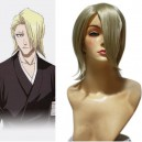 Supply Bleach Kira Izuru 30cm Halloween Cosplay Wig
