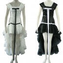 Supply Chobits Chi Black Dress and white Dress Halloween Cosplay Costume