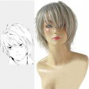 Supply Death Note Near White Halloween Cosplay Wig