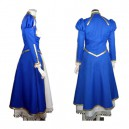 Fate Stay Night Saber Halloween Cosplay Costume