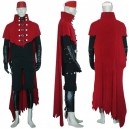 Final Fantasy VII Vincent Valentine Cosplay Costume - Halloween
