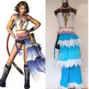 Suitable Final Fantasy XII Yuna Halloween Cosplay Costume