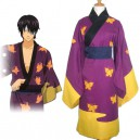 Supply Gin Tama Takasugi Shinsuke Halloween Cosplay Costume