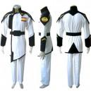 Gundam Seed Lyzak Jule White Uniform Halloween Cosplay Costume