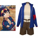 Supply Gurren Lagann Simon Cosplay Costume - Halloween