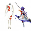 Supply Ikki Tousen Kanu Unchou (cheong-sam) Halloween Cosplay Costume
